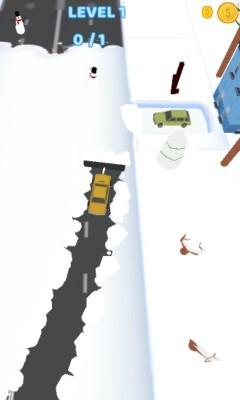 《扫雪车》游戏画面1