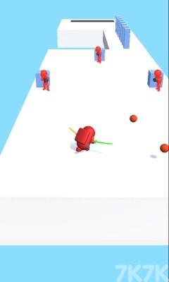 《双刀太空人》游戏画面4