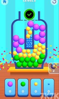 《小球装瓶》游戏画面4