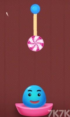 《果冻吃糖果》游戏画面1