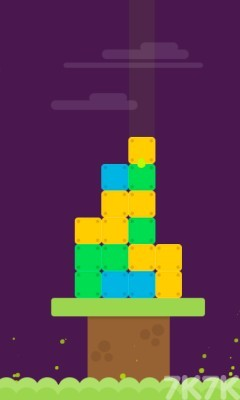 《坠落的方块》游戏画面3