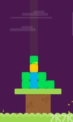 《坠落的方块》游戏画面2