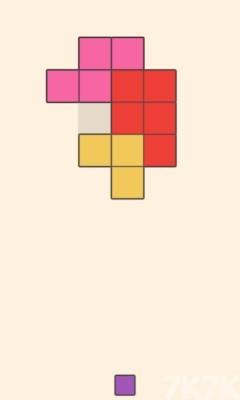 《色彩拼图》游戏画面1