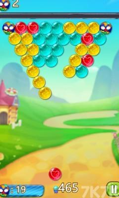 《皎月森林泡泡龙》游戏画面2