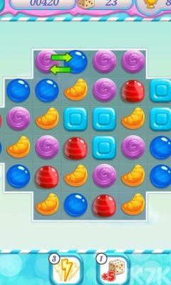 《美味果冻对对碰》游戏画面1