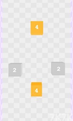 《2048方块合成》游戏画面1