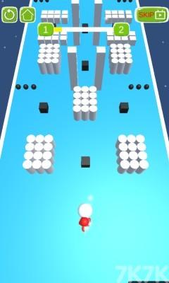 《橡胶人障碍赛》游戏画面1