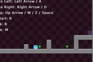《跳跳方块冒险》游戏画面1