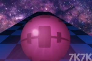 《3D滚动球》游戏画面1