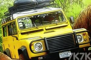 《4X4越野车拼图》游戏画面3