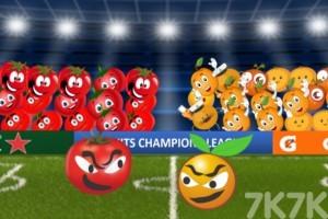 《水果足球队》游戏画面2