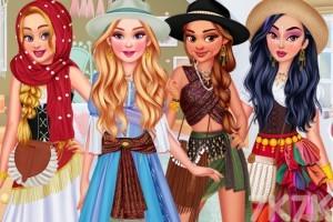 《公主异国旅行》游戏画面1