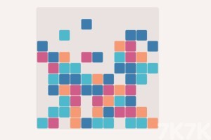 《彩色方塊消除》游戲畫面2