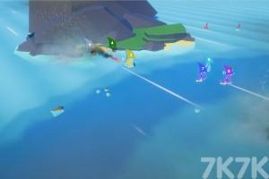 《风吹帆船比赛》游戏画面2