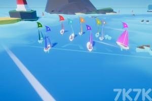 《风吹帆船比赛》游戏画面1