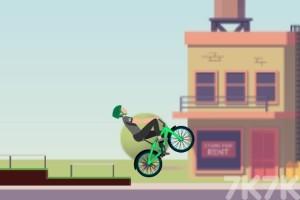 《炫技自行车大赛》游戏画面2