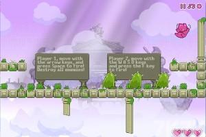 《双猫天使H5》游戏画面1