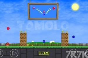 《红色小球冒险》游戏画面1