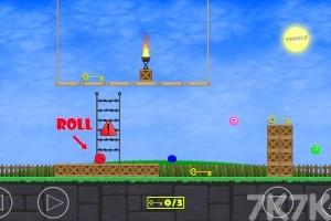 《红色小球冒险》游戏画面3