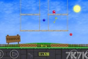 《红色小球冒险》游戏画面2