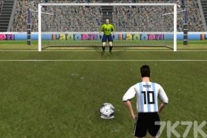 《终极点球大赛》游戏画面1