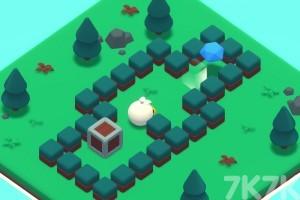 《白鸭推箱子》游戏画面2