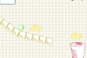 《球入纸篓》游戏画面1