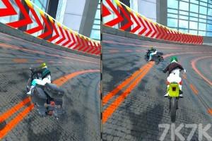 《城市摩托車競賽》游戲畫面6