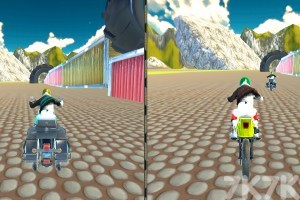 《城市摩托车竞赛》游戏画面2