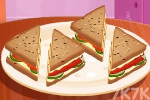 《制作金牌三明治》游戏画面1