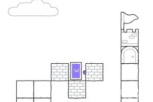 《紫方块的世界》游戏画面4