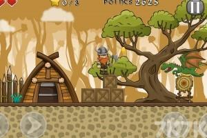 《维京人大战恐龙》游戏画面2