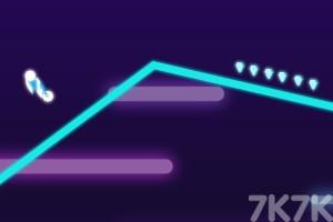 《闪耀霓虹摩托》游戏画面2