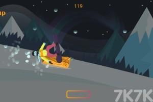 《雪山滑雪板》游戏画面3