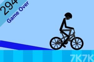《技巧自行车挑战赛》游戏画面2