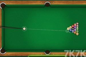 《台球挑战大赛》游戏画面2