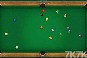 《台球挑战大赛》游戏画面3