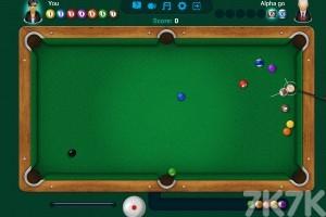 《台球挑战大赛》游戏画面1