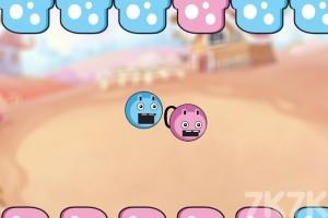 《双色小弹球》游戏画面1