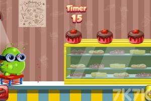 《波波吃蛋糕》游戏画面2