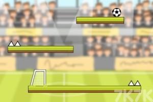 《斜坡足球》游戏画面1