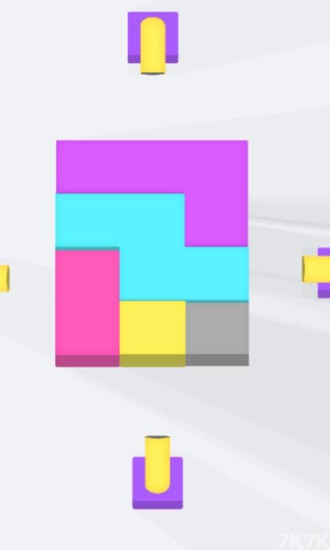 《发射炫彩球》游戏画面4