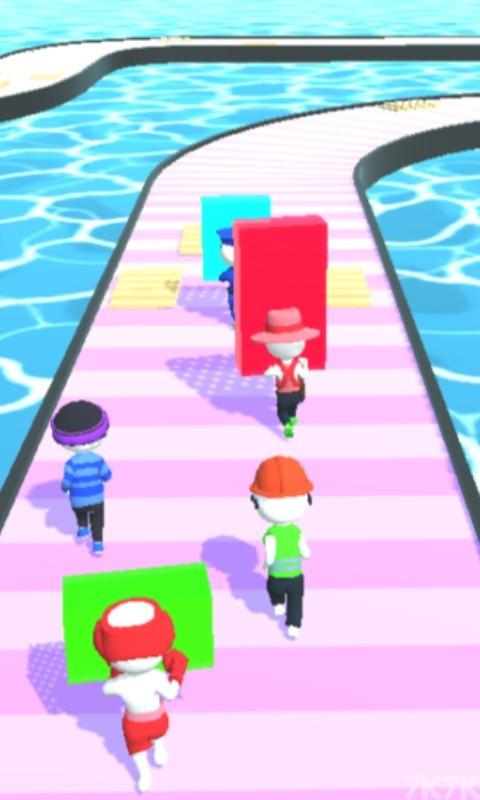 《拾木铺路2》游戏画面1