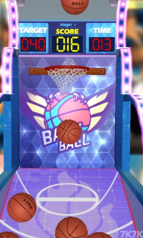 《篮球机挑战赛》游戏画面3