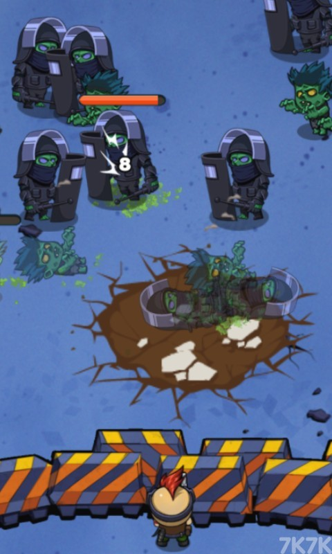 《绝境打僵尸》游戏画面3