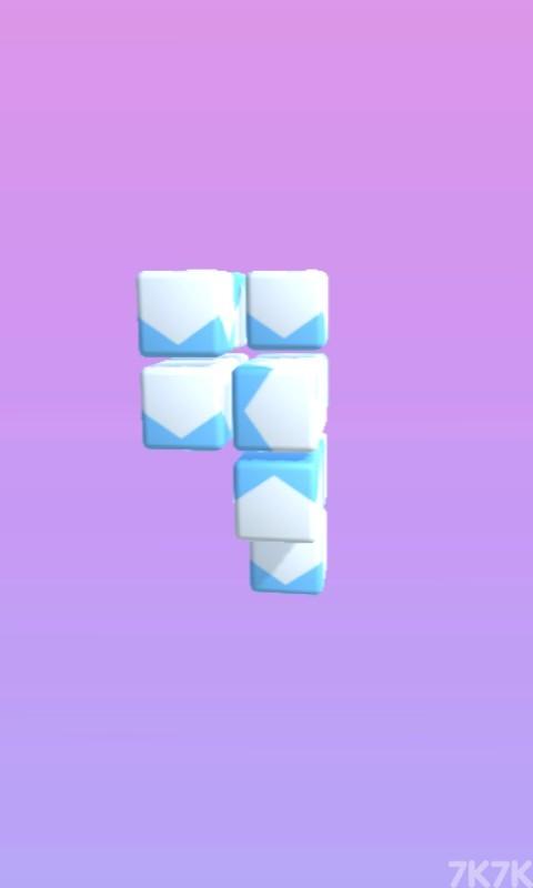 《掉落的方块》游戏画面1
