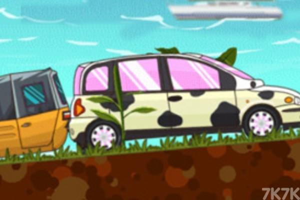 《海岛越野赛》游戏画面2