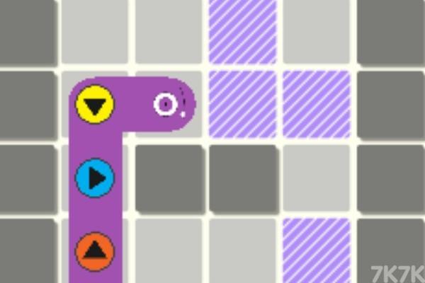 《按钮贪吃蛇》游戏画面1