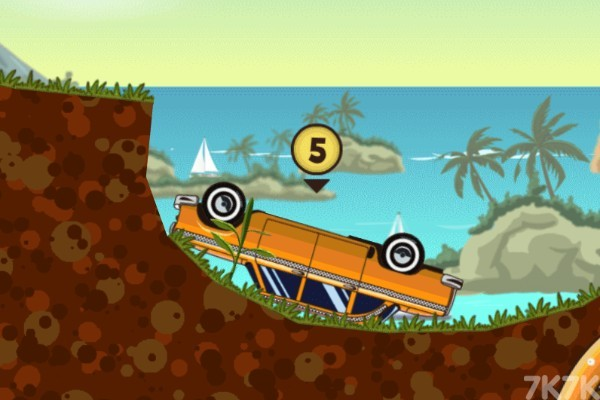 《海岛越野赛无敌版》游戏画面2