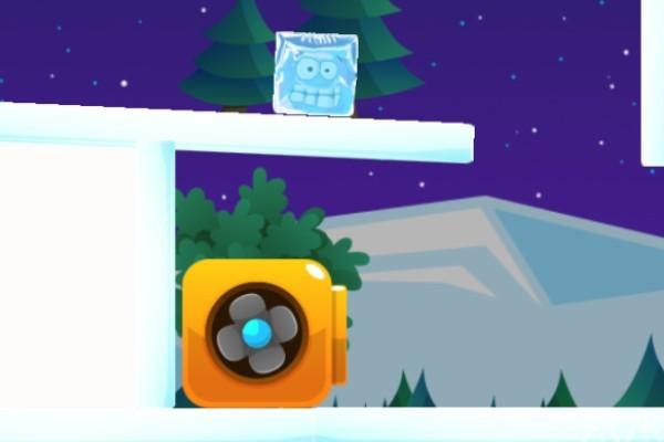 《紫色冰块回家3》游戏画面1